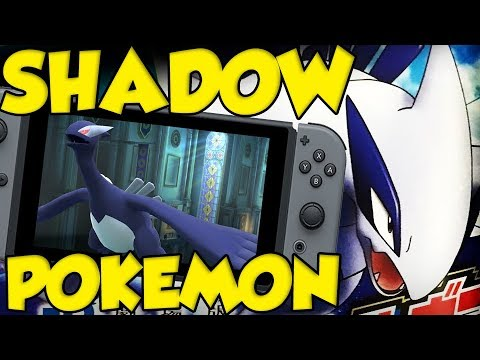 Shadow Pokemon POSSIBLE On The Nintendo Switch Pokémon Game