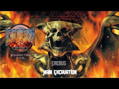 Doom 3 - Resurrection of Evil DLC - Nightmare Difficulty - 01 - Erebus - Main Excavation |