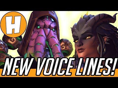 Overwatch - NEW Halloween Skin Voice Lines - Cultist Zenyatta, Dragon Symmetra + More!   Hammeh