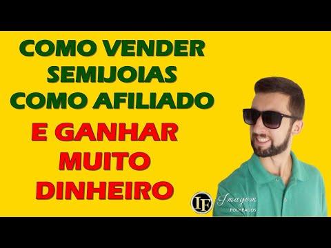 COMO VENDER FOLHEADOS COMO UM AFILIADO - SAIBA COMO GANHAR DINHEIRO COM REVENDA DE SEMIJOIAS