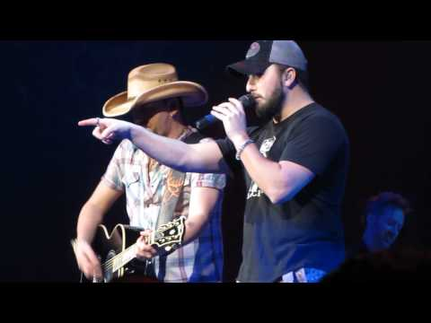 Jason Aldean And Tyler Farr- A Country Boy Can Survive