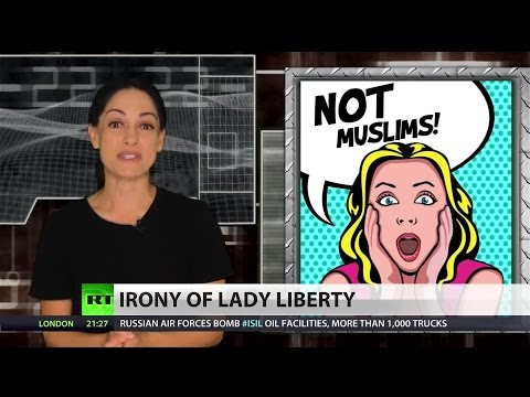 The Statue of Liberty was originally a Muslim