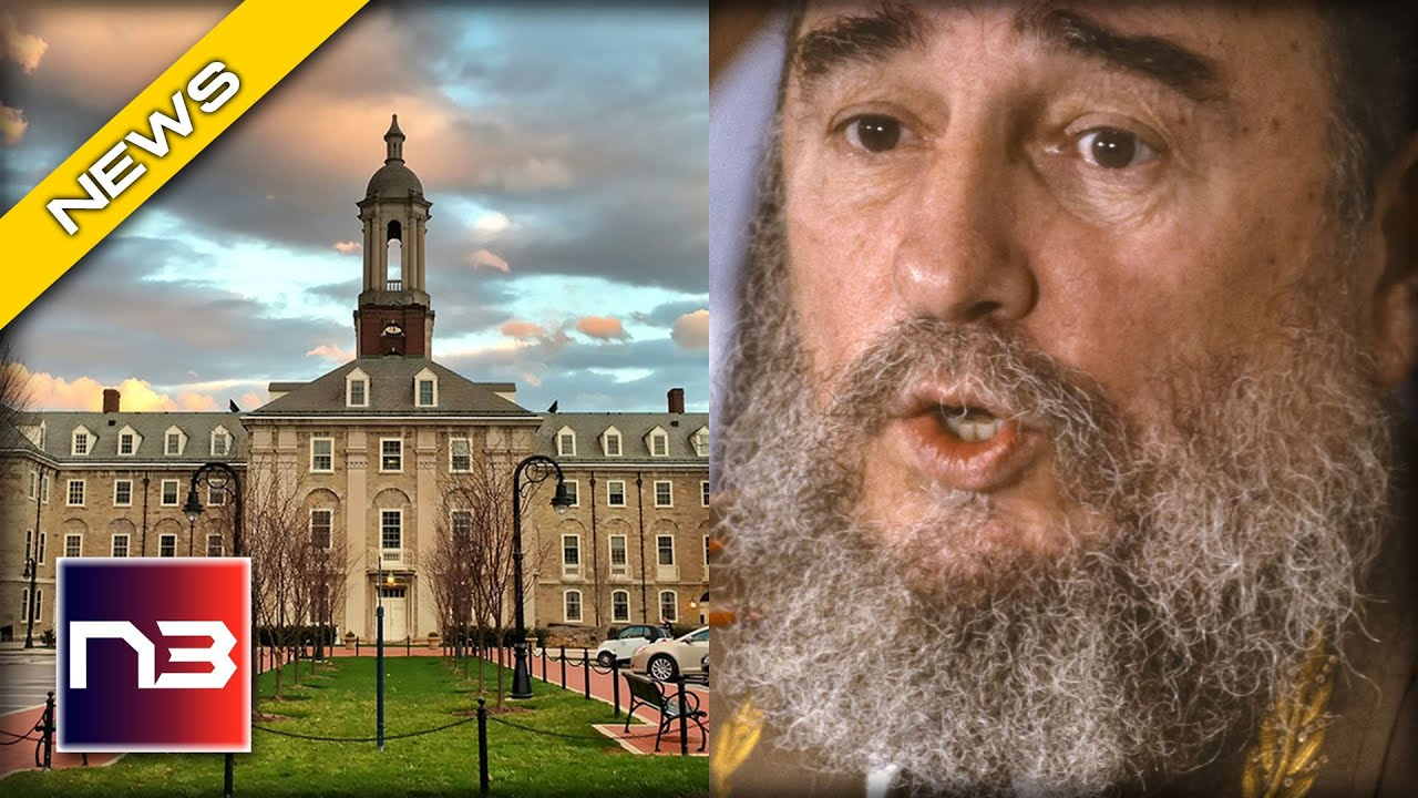 Penn State Finally Caves to Student Demanding Fidel Castro Quote be Removed from Campus