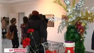 2013-12-23 г. Брест Телекомпания  ''Буг-ТВ''. Выставка в галерее на Советской Т. Потворовой.