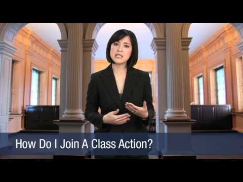 How Do I Join A Class Action?