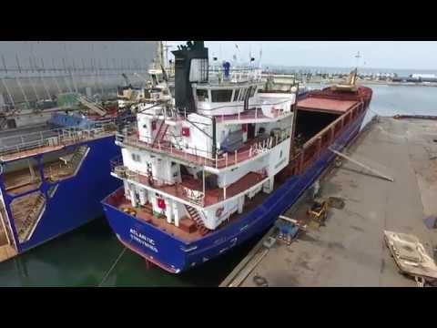 Shipsforsale Sweden Sietas vessel Atlantic RINA Special Survey 2017 Assens