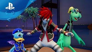 Kingdom Hearts III - Die Monster AG | D23 Tokyo 2018 Trailer [PS4, deutsch]