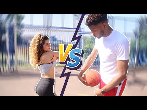 1 v 1 S.T.R.I.P. BASKETBALL VS GIRLFRIEND