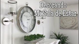 COMO DECORAR MI SALA DE ESTAR /IDEAS PARA LA CHIMENEA /DECORACION/DIY/SALA
