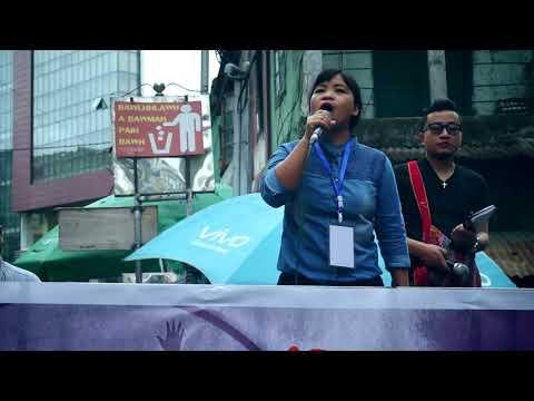 Caroline Biakthansangi Hla Thar – Ro A Rel Dawn @pump Charity Concert 2018