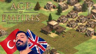 ANCA DEFANS YAPARSIN !! [Türkler vs Britonlar] | AoE II: Definitive Edition
