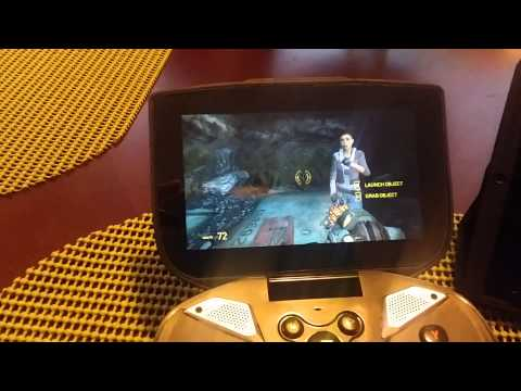 Half-Life 2 Ep  2 works on Shield Portable, here is the video