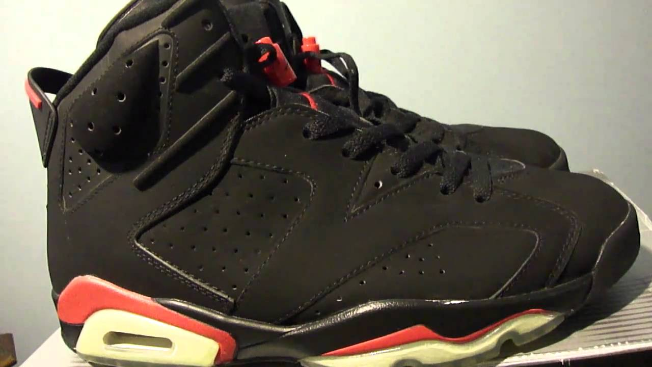 nike air jordan vi 6 infrared 2000 retro look