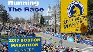 Boston Marathon 2017, The Race (GoPro private footage)