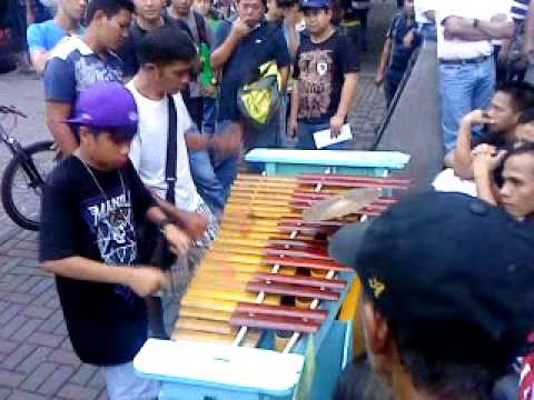Filipino Talent Perform With Bamboo Instrument &  Luneta  Seamans  Center MANILA,PHILIPPINES