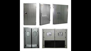 видео Промышленные двери | Металлические двери для промышленных помещений и зданий