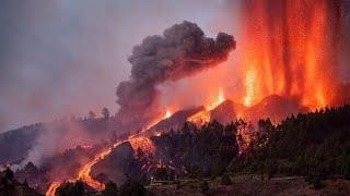 ERUPCIÓN Volcán La Palma 2021