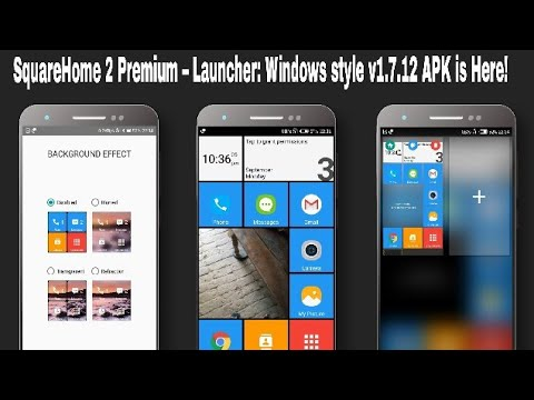 mSquareHome 2 Preium – Launcher: Windows style v1 7 12 APK is Here!