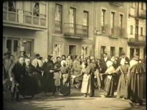 Dr. Angel Sojo - Filmación año 1925 Pueblo Villaro (hoy Areatza) en Vizcaya, País Vasco