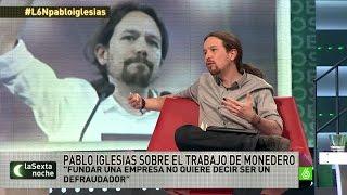 """Pablo Iglesias: """"Ser de Podemos no implica no poder abrir un..."""