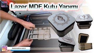"""Lazer Ahşap (MDF) Kutu Yapımı """"SH350G"""""""