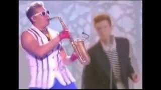 10 hours rick roll d epic sax guy