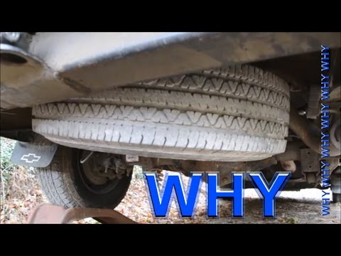STUCK SPAIR TIRE on Your Express / Savana / Chevy ?
