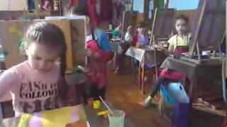 Уроки рисования Татьяны Молодой для детей от 5 лет. Рисуем портрет.