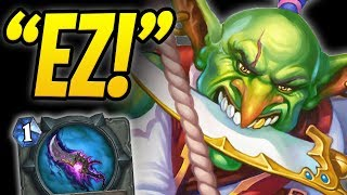 STEAMROLLING with KINGSBANE! | Kingsbane Rogue | Raiding Party | Rastakhan