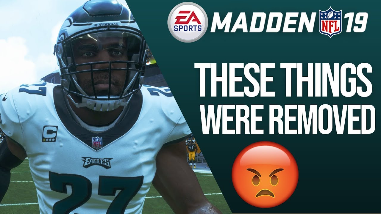 Madden 19 - 5 Things That Were REMOVED From The Game!