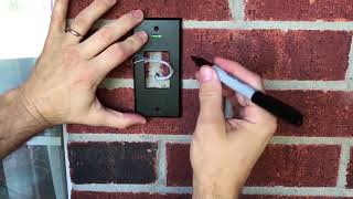 How to install Ring video doorbell Pro - start to finish