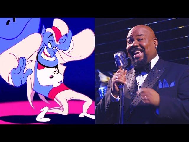 "Genie's ""Friend Like Me"" Remix | Aladdin on Broadway Cast | Disney Sessions"