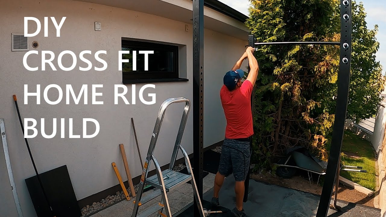 A Time-lapse of me building my Home Gym