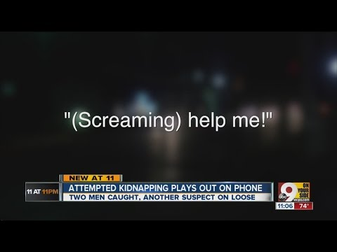 Woman secretly called 911 while she was kidnapped in car, records say