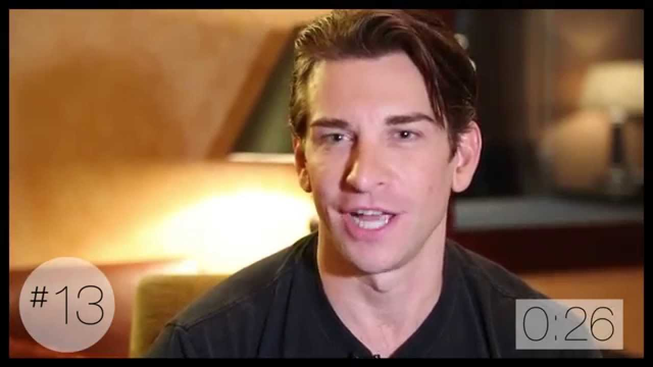 20 Questions in 2 Minutes with Broadway's Andy Karl - YouTube