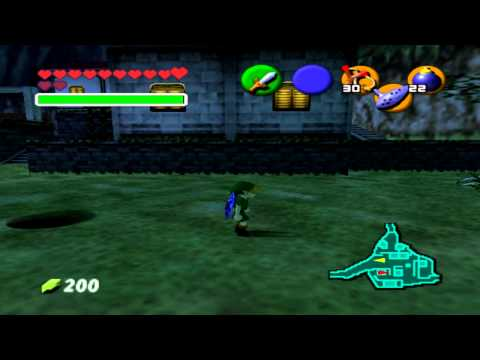 Walkthrough FR l Zelda Ocarina Of Time l 30 Skulltulas : Bourse De Géant