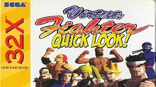 32X: Virtua Fighter! Quick Look - YoVideogames
