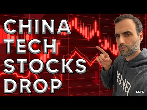 China Tech Stocks Plummet 17% in 3 Days! U.S. Markets Nervously Wait For Fed Meeting