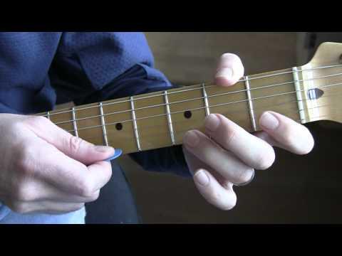 Part A12:  Bad (U2 Guitar Tutorial / Lesson) - Chorus