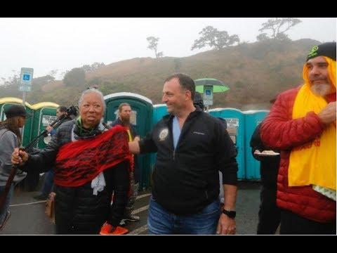 Hawaii Lt. Gov. Josh Green Meets With TMT Opponents On Mauna Kea
