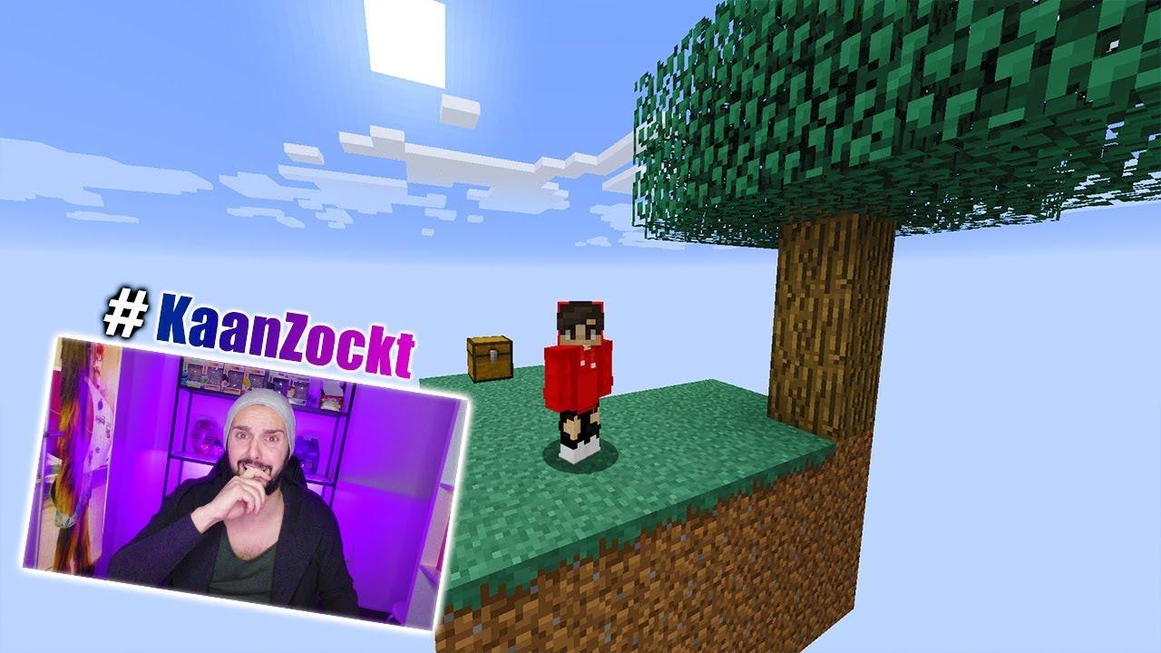 SkyBlock ÜBERLEBENSMODUS BEI MINECRAFT Kann Das Ein Noob Schaffen - Minecraft skyblock spielen