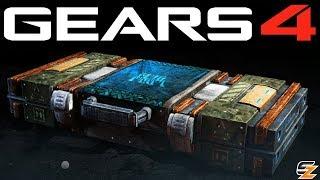Gears of War 4 Gear Packs - OPENING 15 GEARS 5 SCAVENGER PACKS!