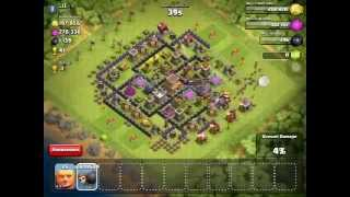 CLASH OF CLANS 695 WALL BREAKER EPIC RAGE MUST SEE!!