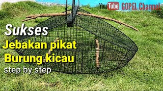 Download Video Membuat jebakan pikat burung kicau. step by step MP3 3GP MP4