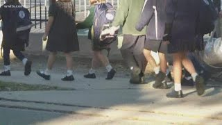 Lakeview lockdown kept family members apart, students from parents