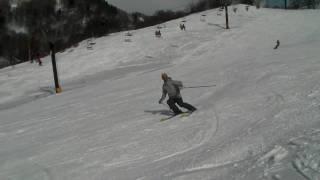 スキー マサミ① @山田牧場 2010.02.20