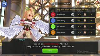 How to get guild blessing Ragnarok Mobile: Eternal Love with Belief Token