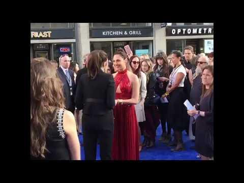 Gal Gadot & Lynda Carter & Patty Jenkins Wonder Woman Premiere