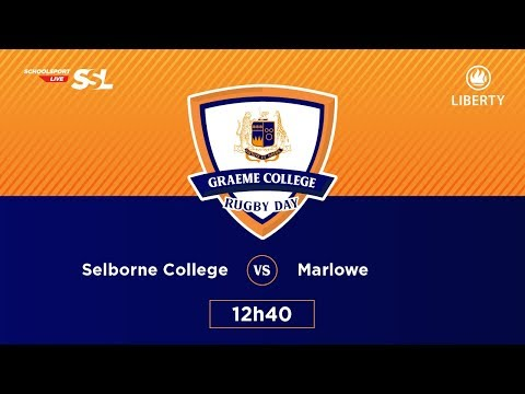 Graeme College Rugby Day - Selborne College XV vs Marlowe Agri School XV, 24 March