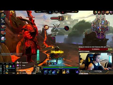 AO KUANG JUNGLE: HOW TO GO FROM FEEDING TO GODLIKE IN GRANDMASTERS RANKED   SMITE CONQUEST